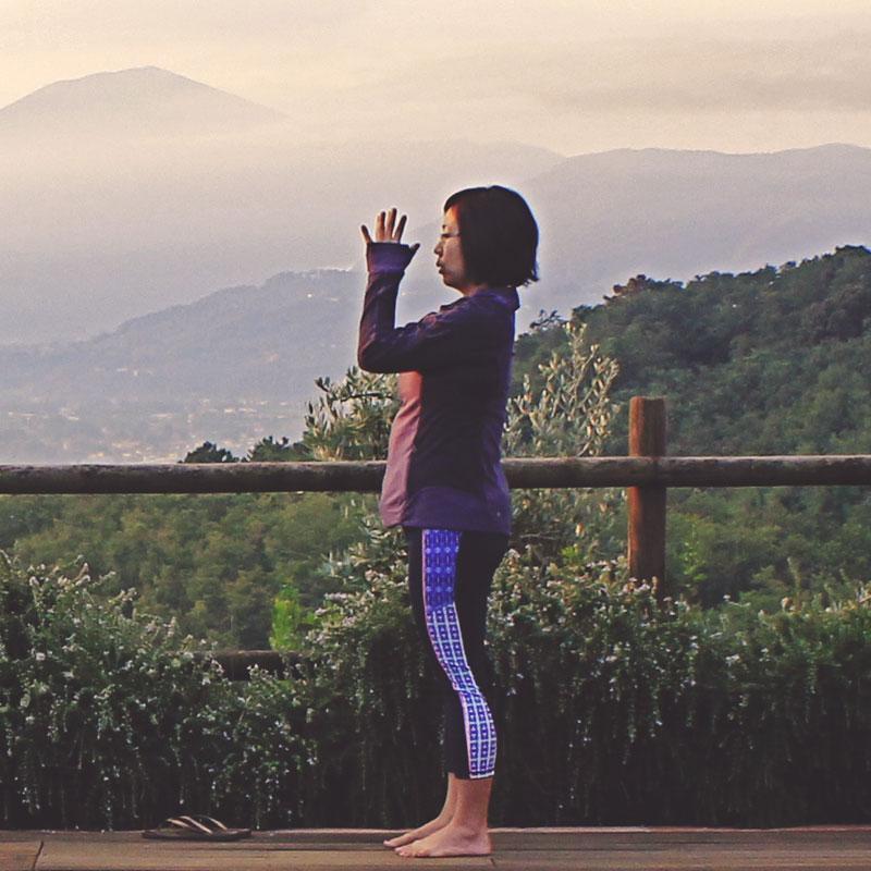 learn yoga with santosha yoga