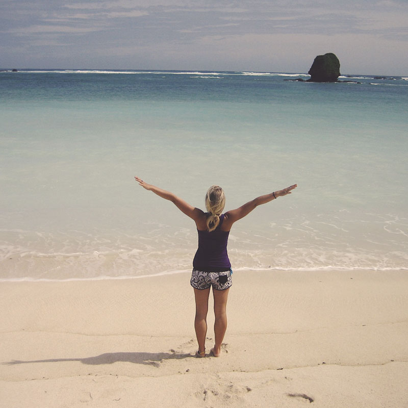 Santosha Yoga Retreat on Bali Beach
