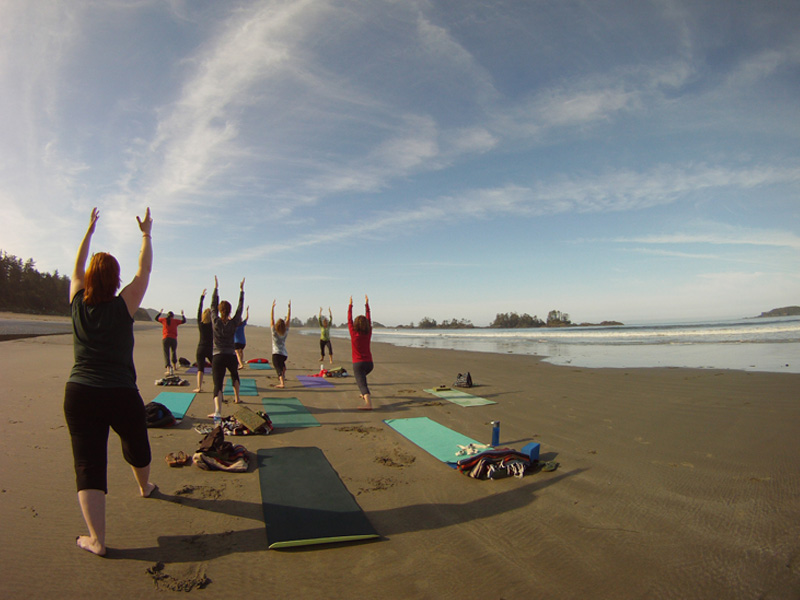 Chesterman Beach Yoga
