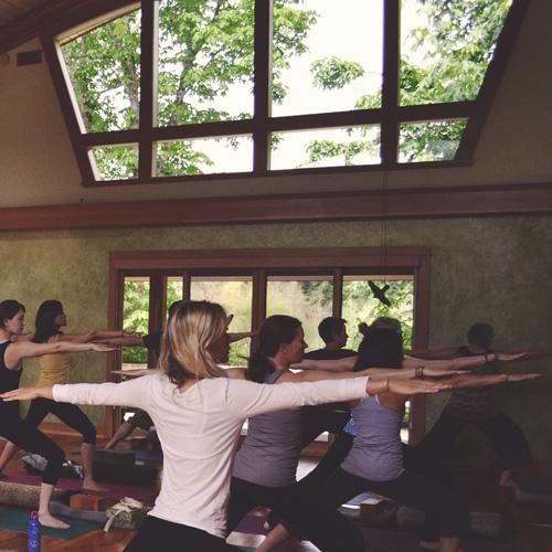 Yoga at Stowel Lake Farm
